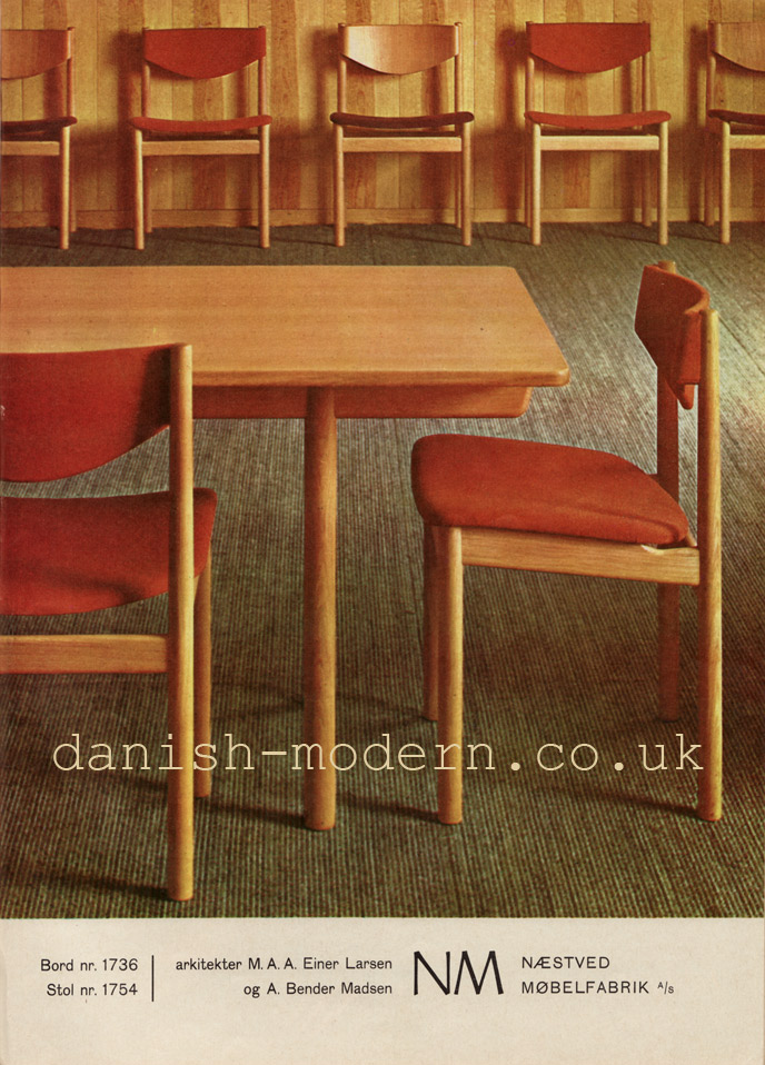 Einar Larsen & Bender Madsen for Naestved Møbelfabrik