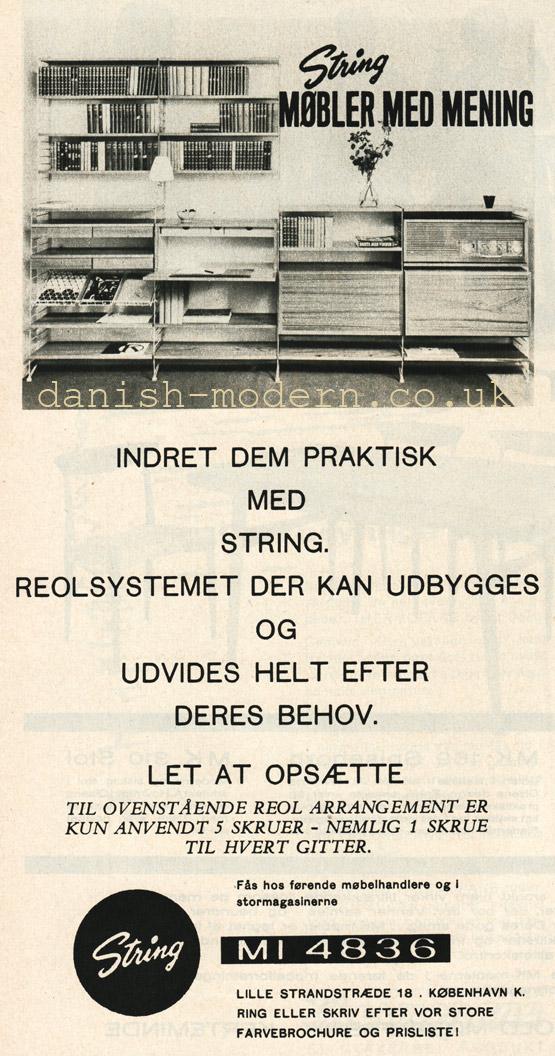 Unspecified designer for String: String shelving