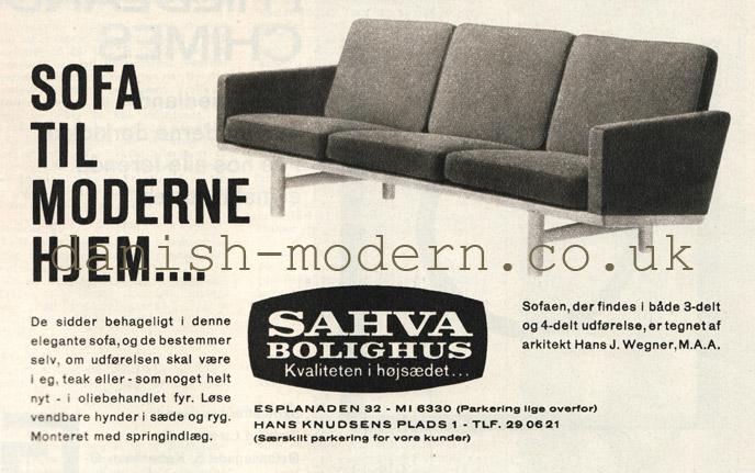 Hans J Wegner at Sahva Bolighus