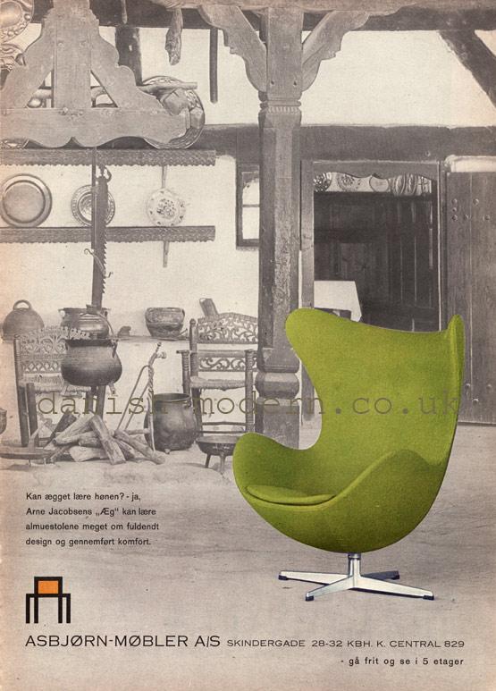 Arne Jacobsen at Asbjørn Møbler