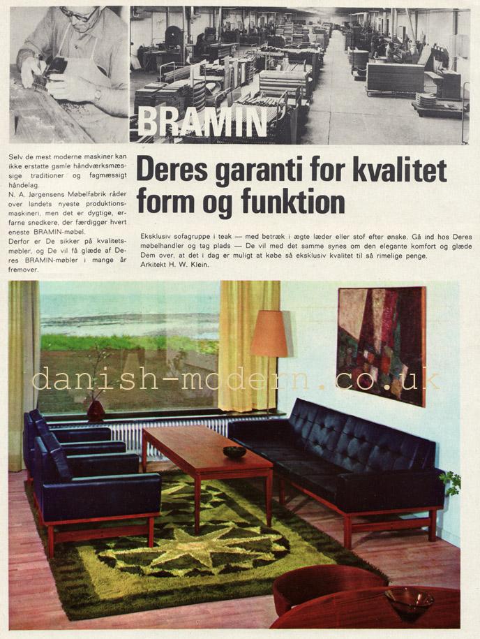 HW Klein for NA Jørgensens Møbelfabrik (Bramin)