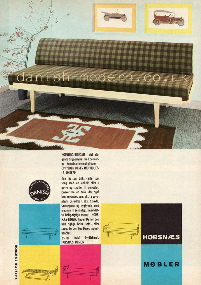 Horsnaes Møbler sofa