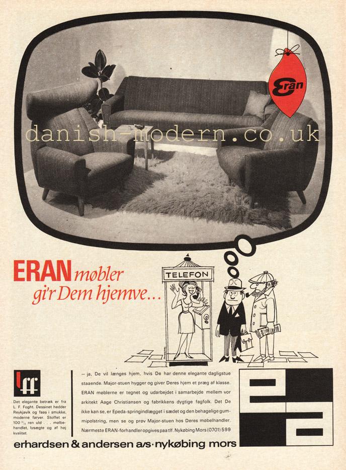 Aage Christiansen for Erhardsen & Andersen (Eran): Major
