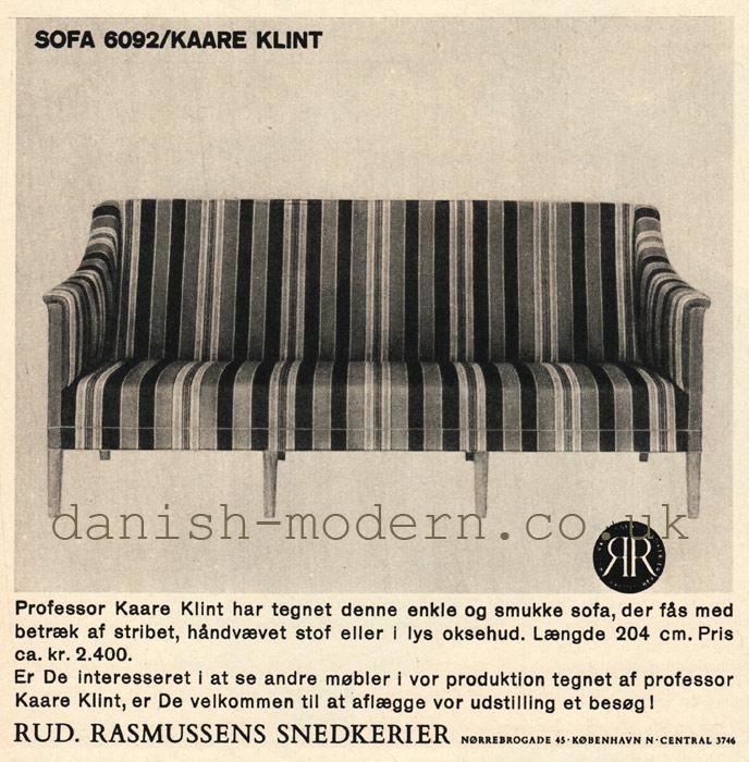 Kaare Klint for Rud Rasmussens Snedkerier