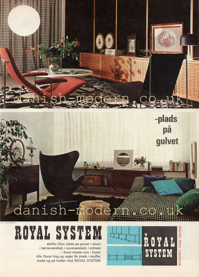 Poul Cadovius for Royal System