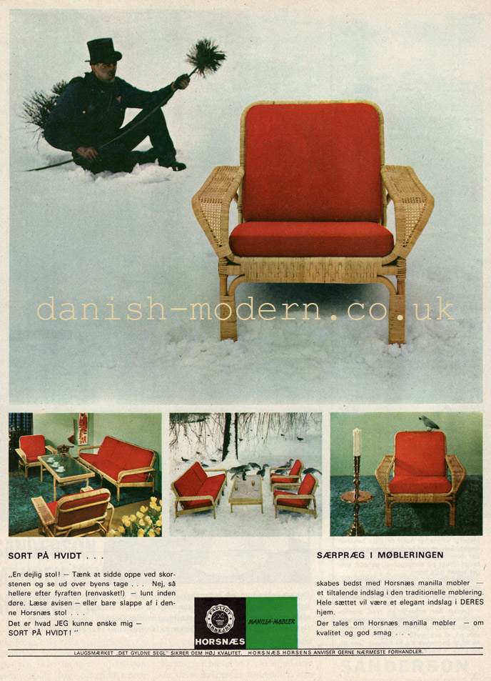 Horsnaes Møbler: Manilla-møbler