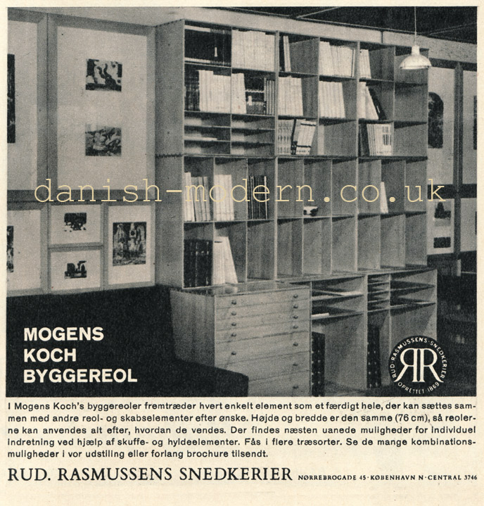 Mogens Koch for Rud Rasmussens Snedkerier