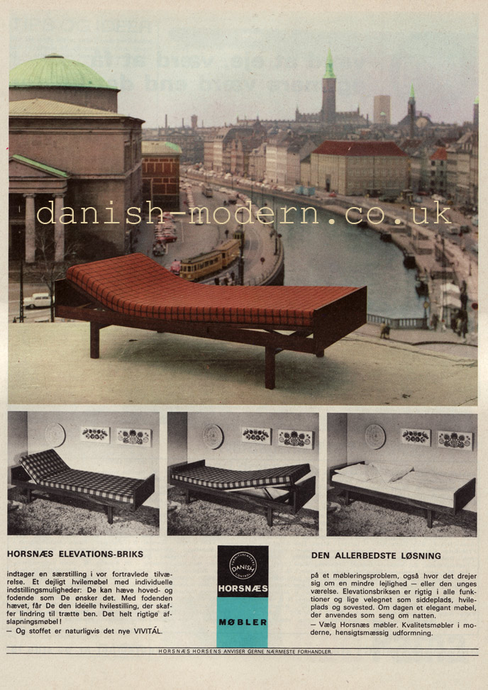 Horsnaes Møbler sofa bed Elevations-Briks