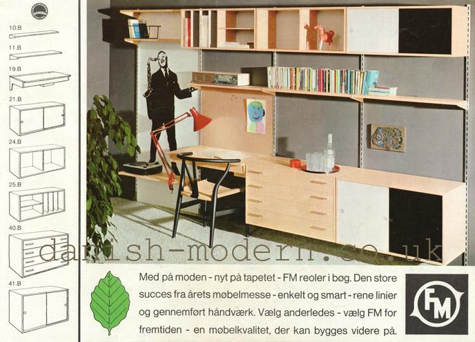 Unspecified designer for Fornem Møbelkunst (FM)