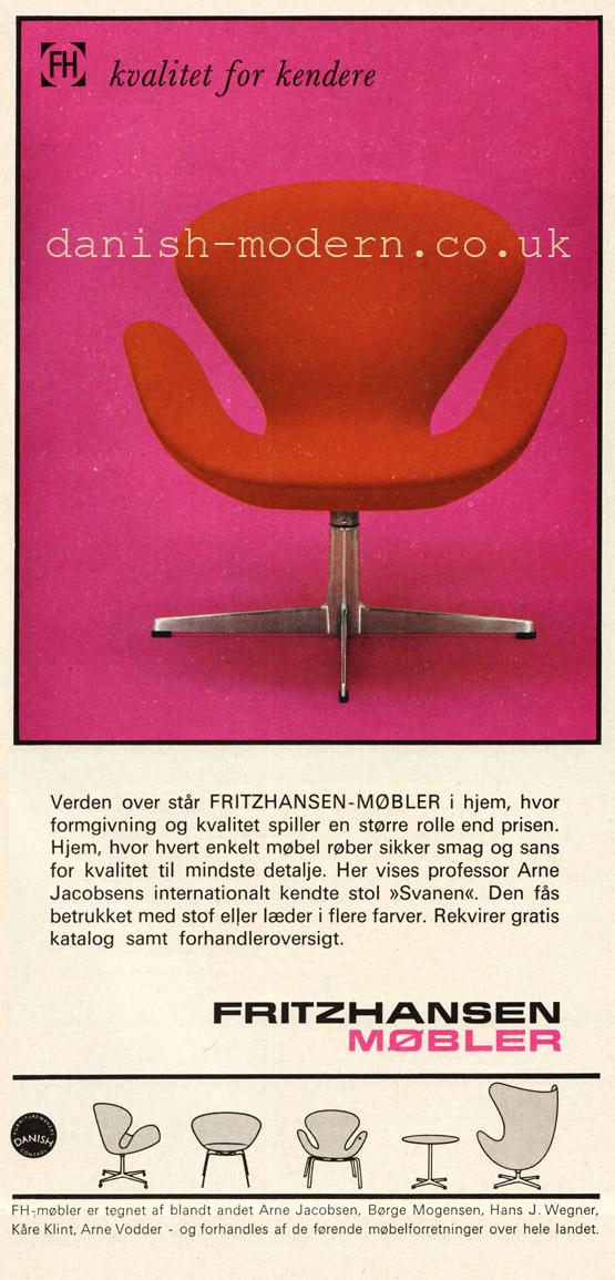 Arne Jacobsen for Fritz Hansen: Svanen (Swan)