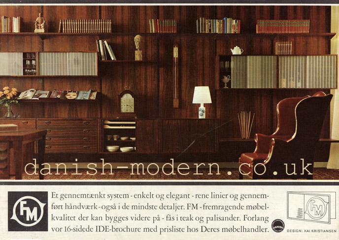 Kai Kristiansen for Fornem Møbelkunst (FM)