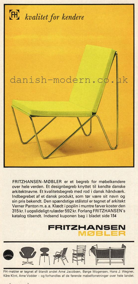Verner Panton for Fritz Hansen