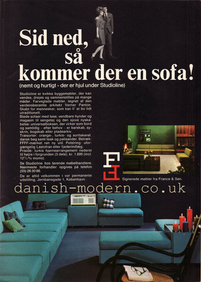 Verner Panton for France & Søn