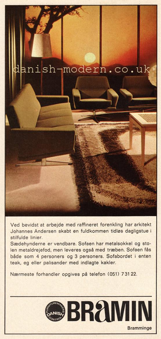 Johannes Andersen for NA Jørgensens Møbelfabrik (Bramin)