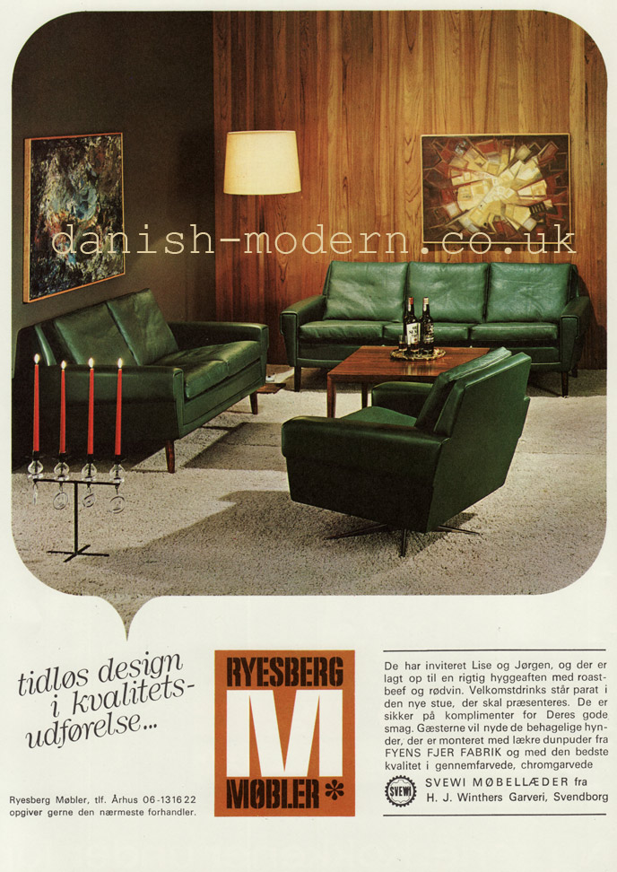 Ryesberg Møbler sofa group