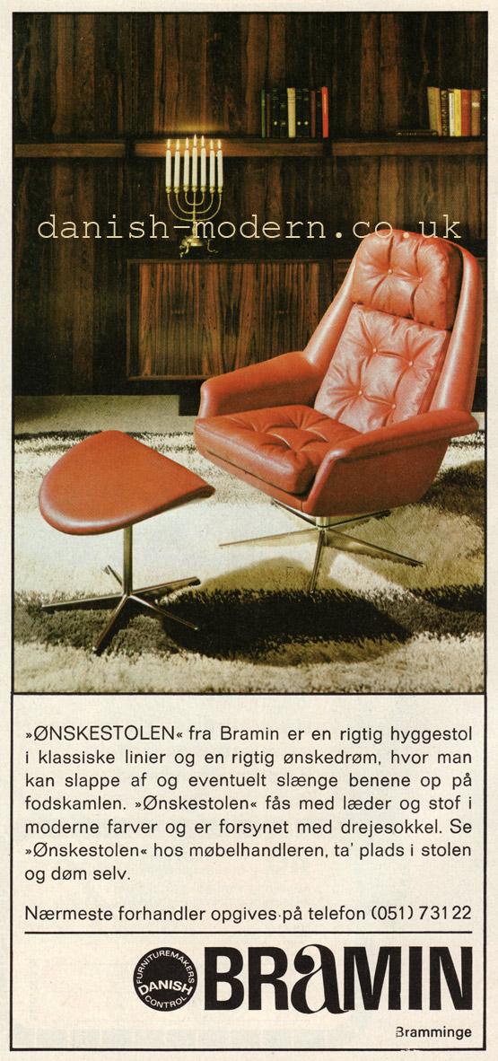 Unspecified designer for NA Jørgensens Møbelfabrik (Bramin): Ønskestolen
