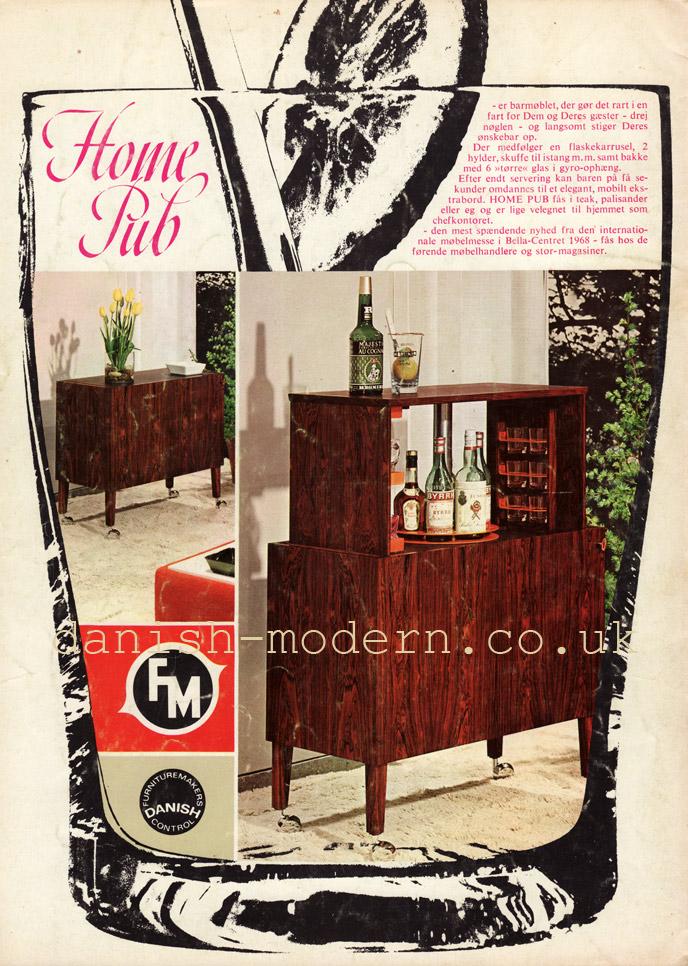 Unspecified designer for Fornem Møbelkunst (FM): Home Pub