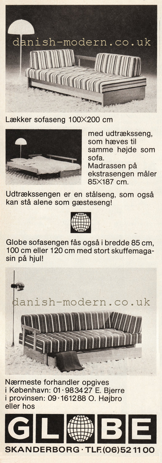 Unspecified designer for Globe Møbel & Madrasfabrik: sofa beds