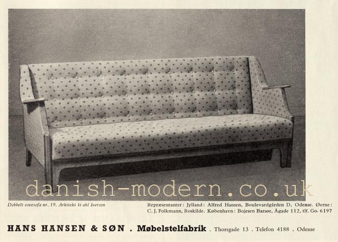 Wahl Iversen for Hans Hansen & Søn