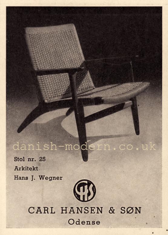 Hans J Wegner for Carl Hansen & Søn