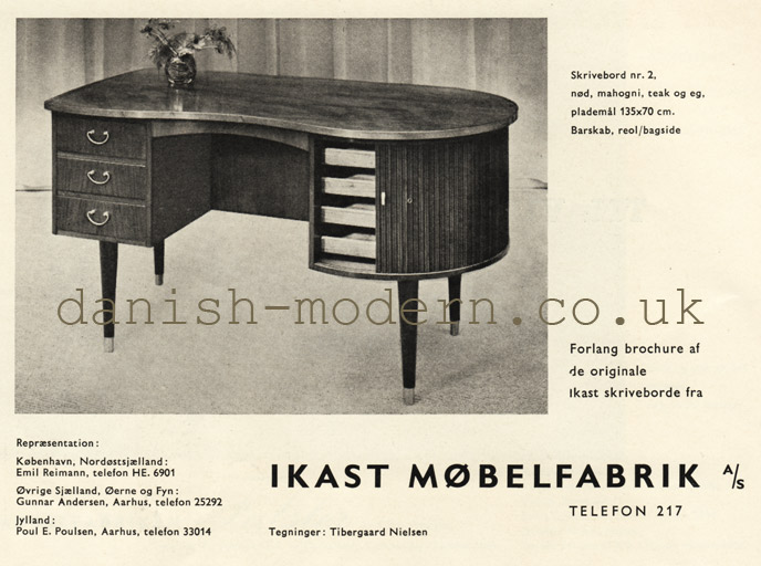 Tibergaard Nielsen for Ikast Møbelfabrik