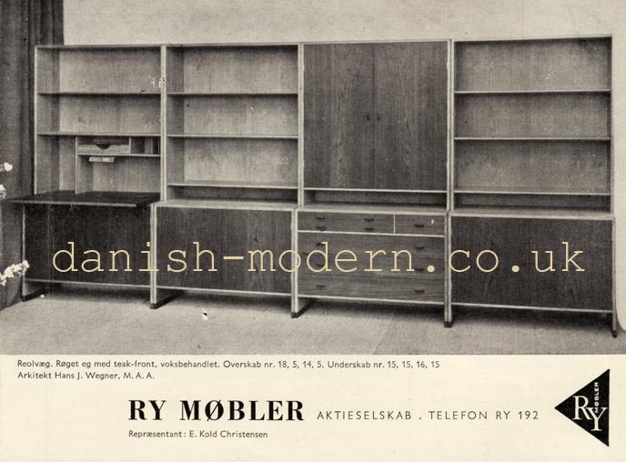Hans J Wegner for Ry Møbler