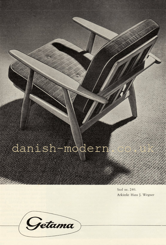Hans J Wegner for Getama