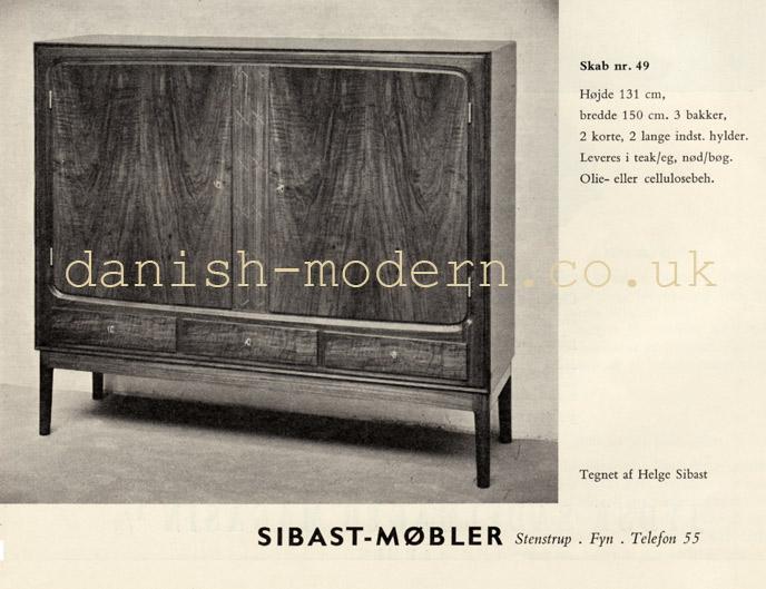 Helge Sibast for Sibast Møbler