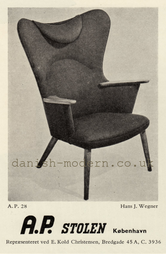 Hans J Wegner for AP Stolen