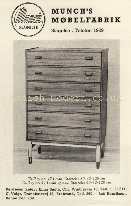 Munch's Møbelfabrik cabinet