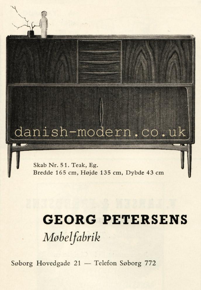 Georg Petersens Møbelfabrik chair