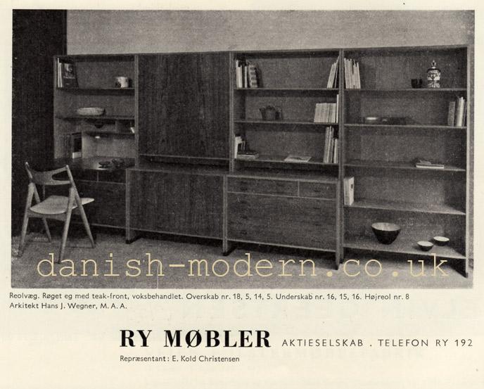 Hans J Wegner for Ry Møbler: 5, 8, 14, 15, 16, 18  ID your vintage ...