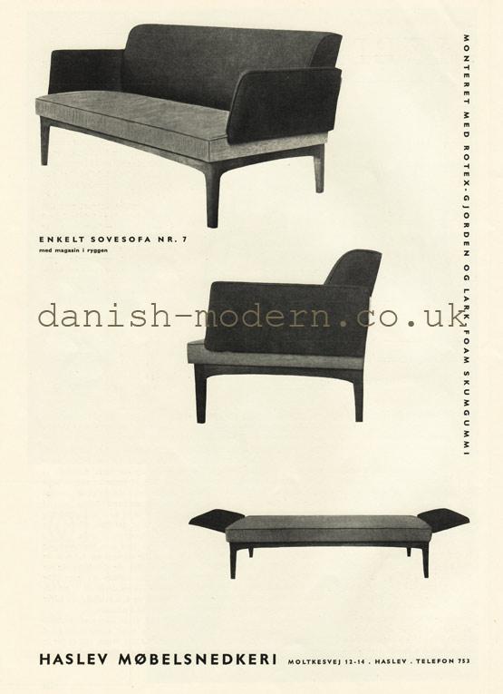 Haslev Møbelsnedkeri sofa bed