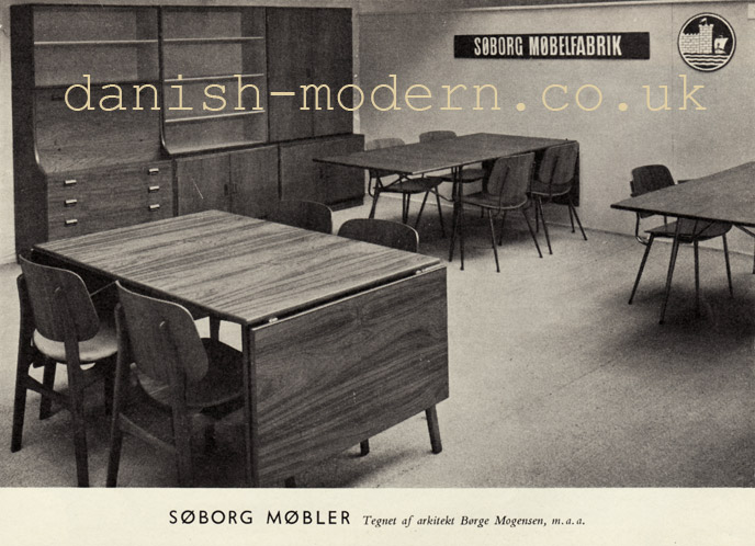 Børge Mogensen for Søborg Møbelfabrik