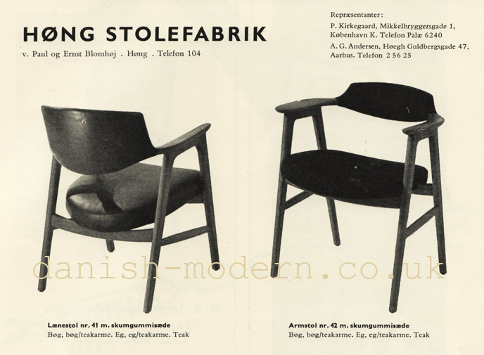 Hong Stolefabrik chairs