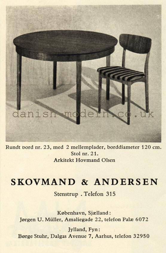 Hovmand Olsen for Skovmand & Andersen