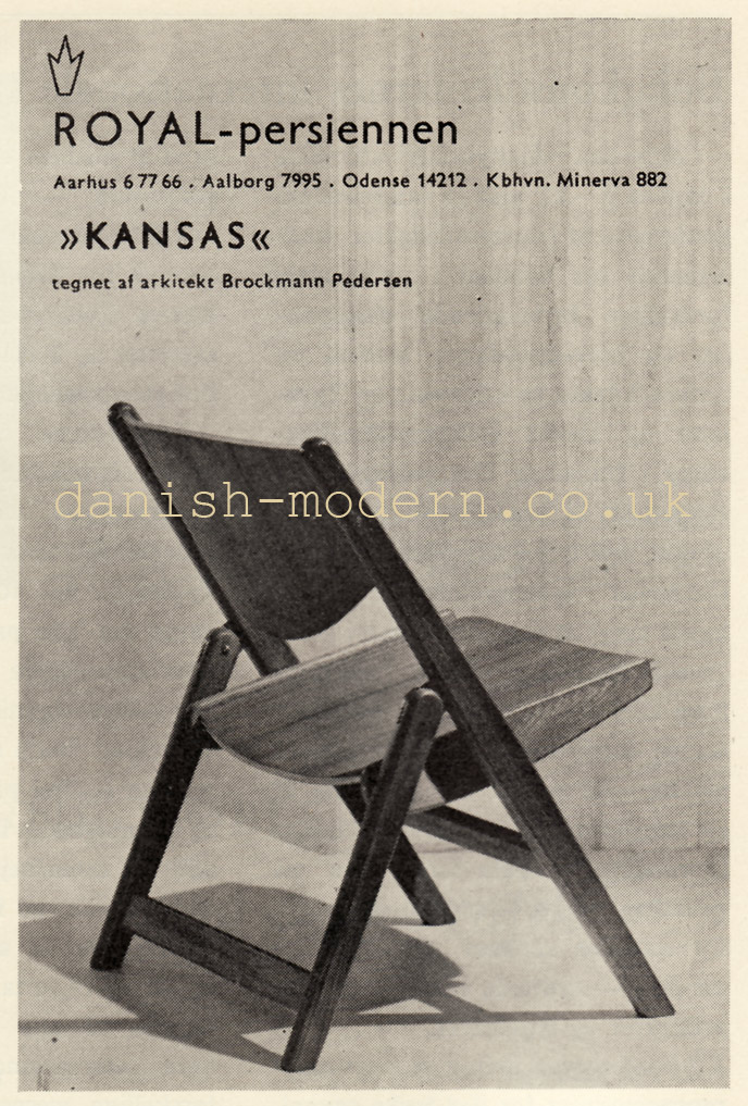 Brockmann Petersen for Royal Persiennen: Kansas