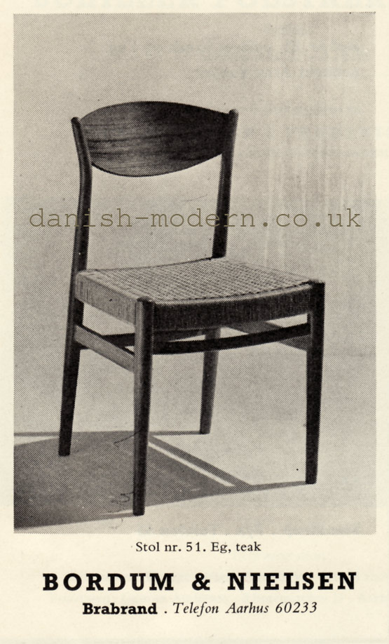 Bordum & Nielsen chair