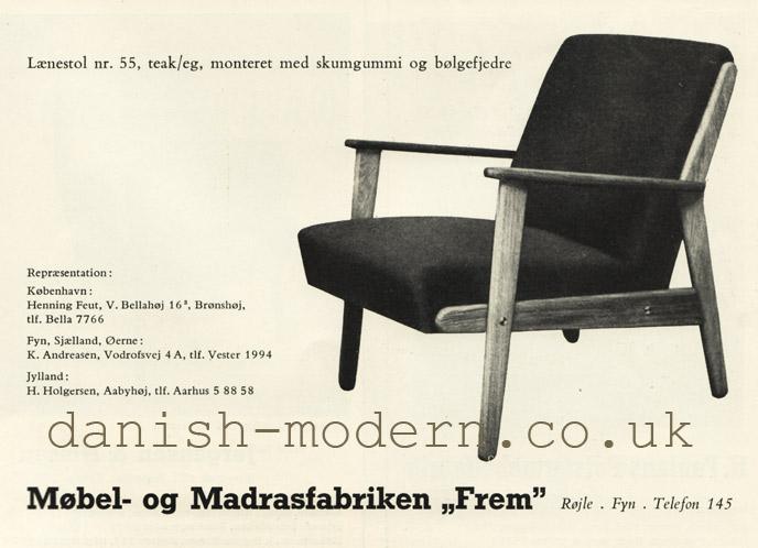 Møbel- & Madrasfabrik Frem Røjle chair