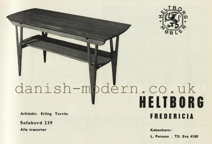 Erling Torvits for Heltborg Møbler