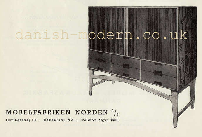 Møbelfabriken Norden cabinet