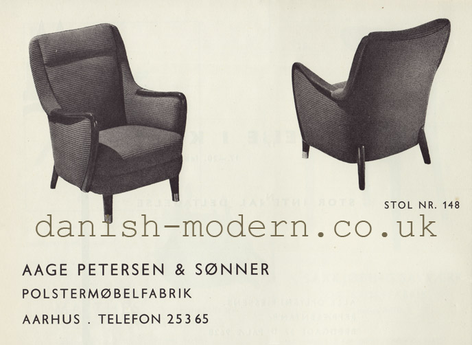 Aage Petersen & Sønner chair