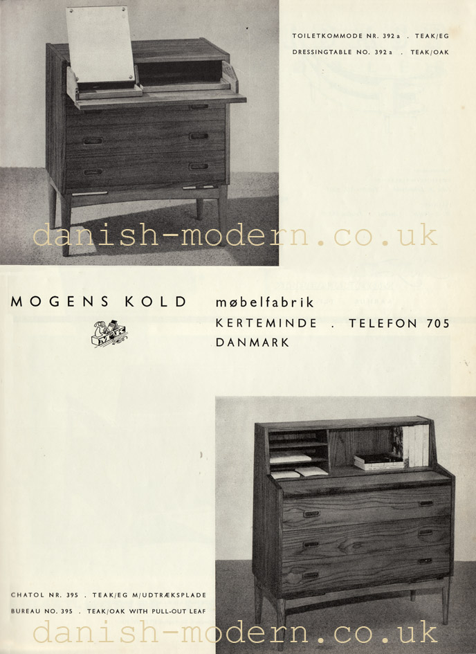 Mogens Kold Møbelfabrik cabinets