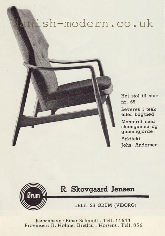Johannes Andersen for R Skovgaard Jensen