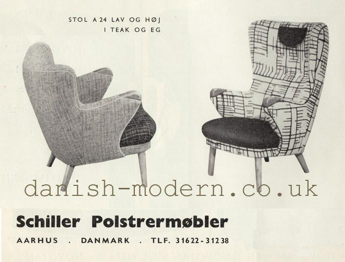 Schiller Polstrermøbler chairs