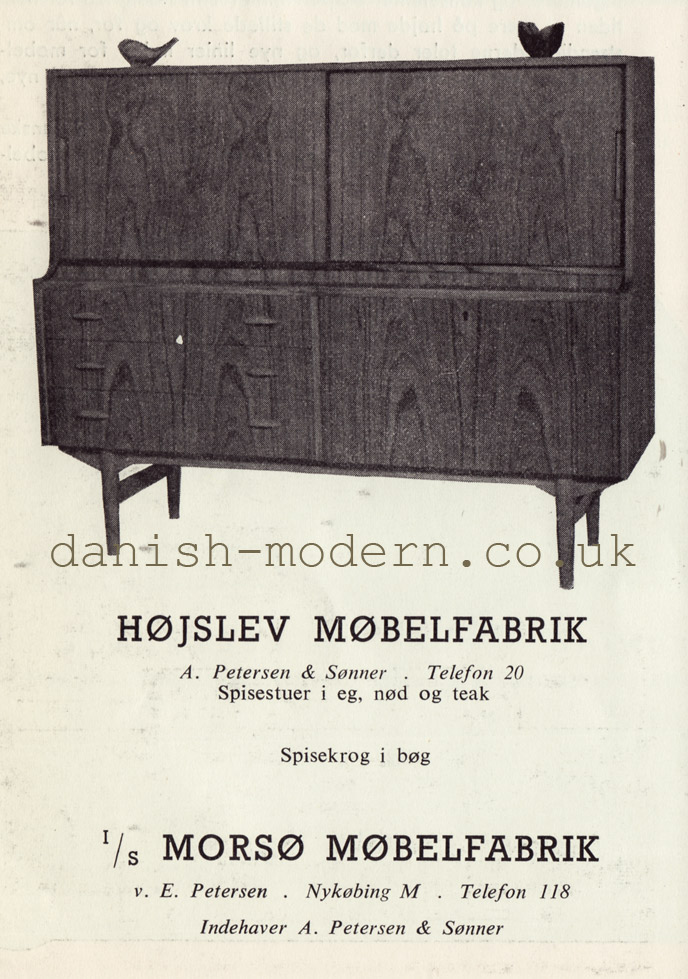 Højslev Møbelfabrik cabinet