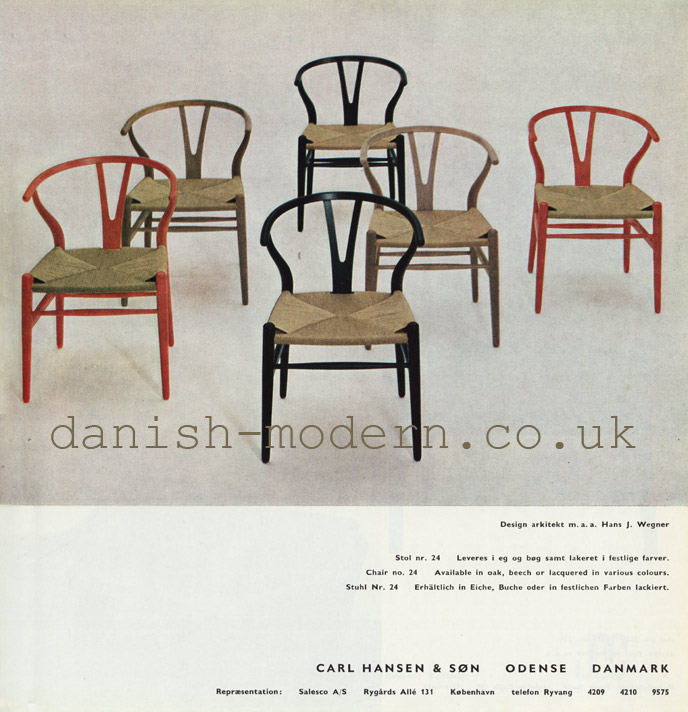 Hans J Wegner for Carl Hansen & Søn at Salesco