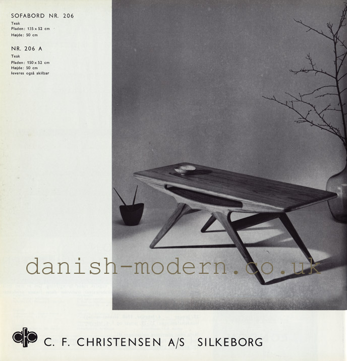 CF Christensen table