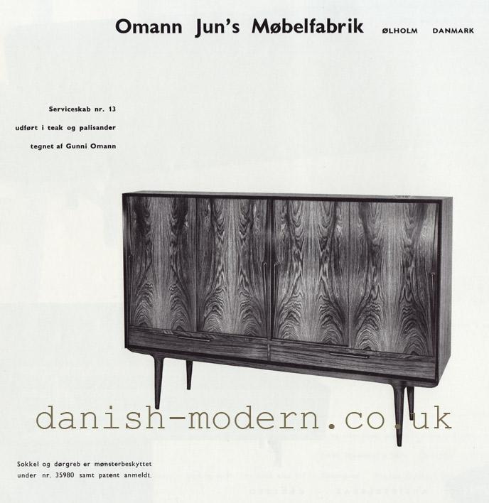 Gunni Omann for Omann Juns Møbelfabrik