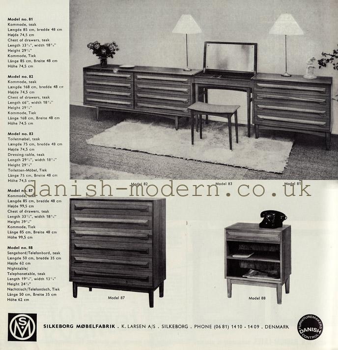 Silkeborg Møbler cabinets